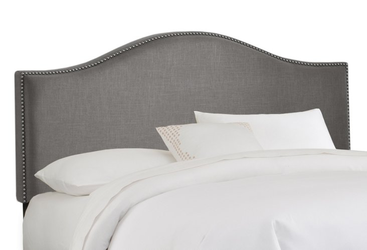 Tallman Arched Headboard, Gray