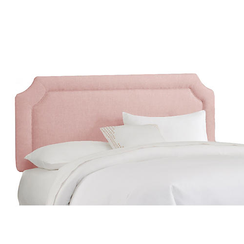 Morgan Headboard, Petal Linen