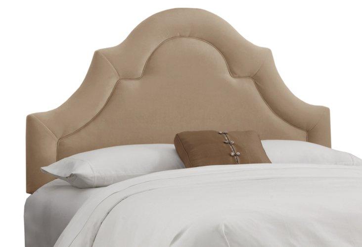 Marin Upholstered Headboard, Khaki