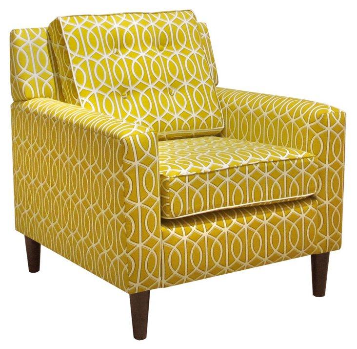 Winston Chair, Mustard