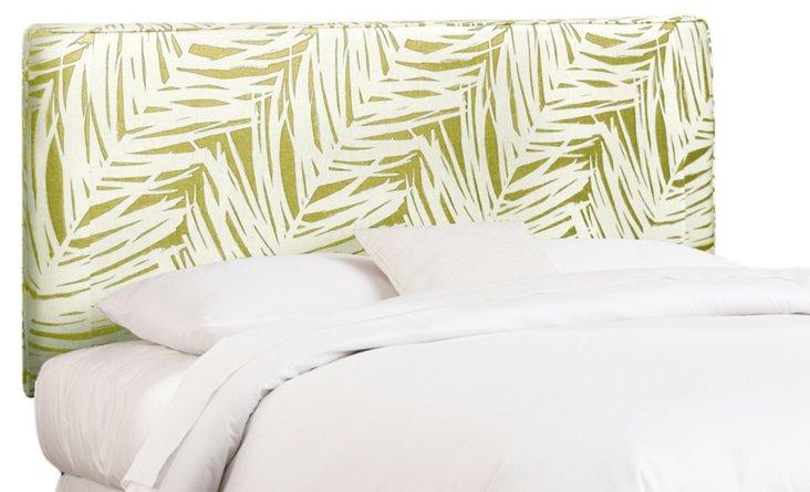 MacLaine Linen Palm Headboard, Citrine