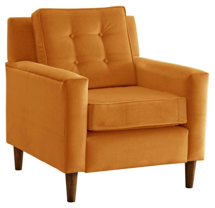 Winston Armchair, Gold