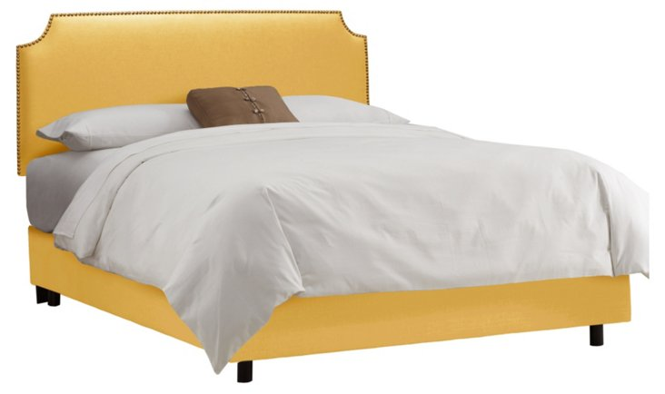 Ellis Nailhead Bed, Marigold