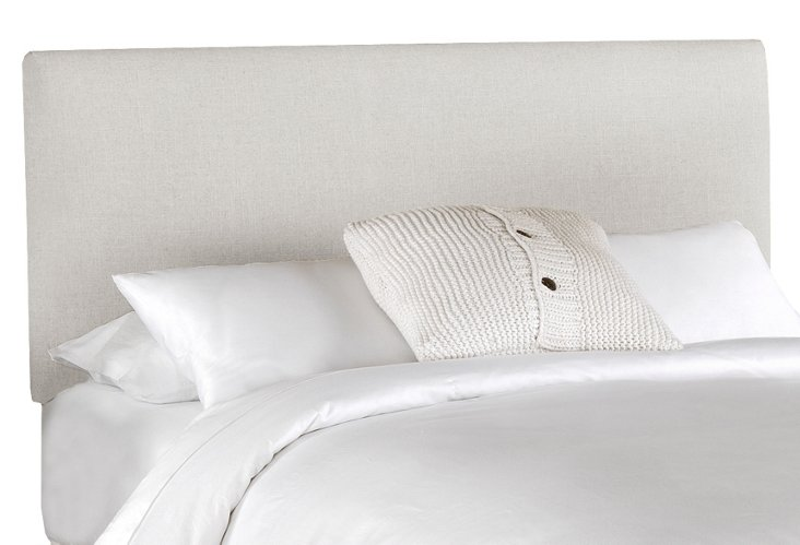Novak Headboard, Talc