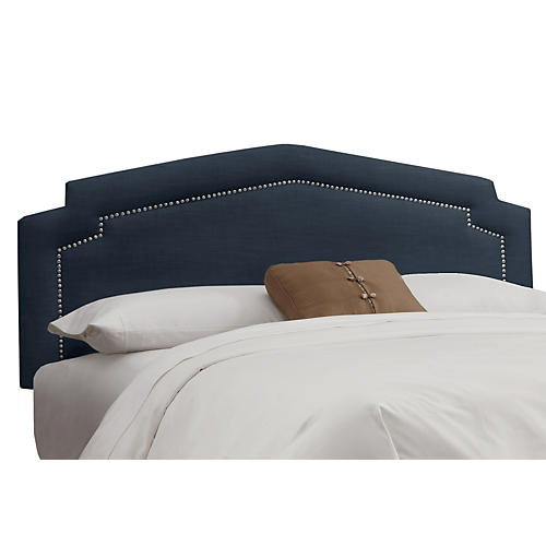 Grace Headboard, Navy