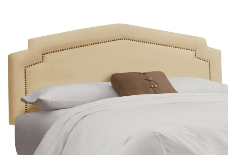 Grace Upholstered Headboard, Cream