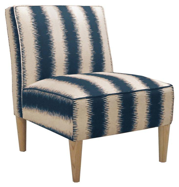 Finnegan Armless Chair, Cream