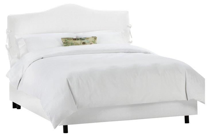 Elle Slipcover Bed, White