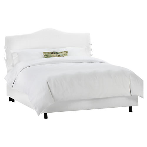 Eloise Slipcover Platform Bed, White