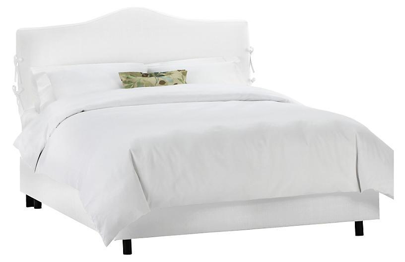 Eloise Slipcover Bed, White