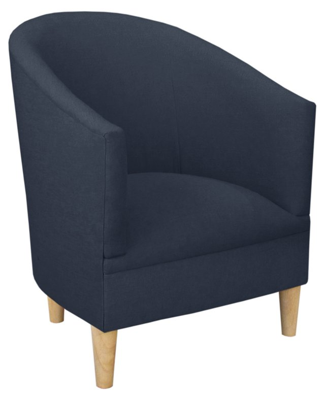 Ashlee Tub Chair, Navy