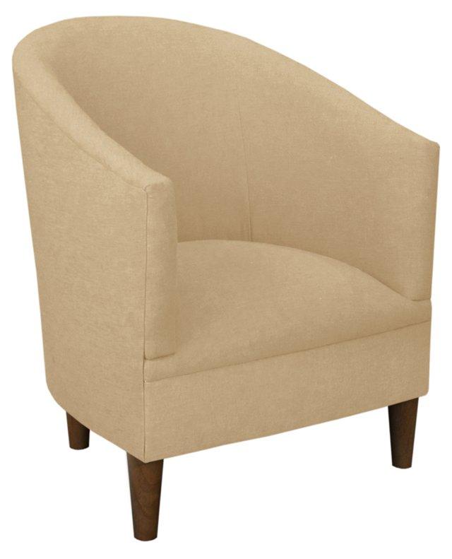 Ashlee Tub Chair, Linen Sand