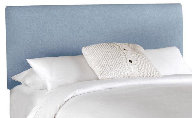 Novak Headboard, Light Denim Blue