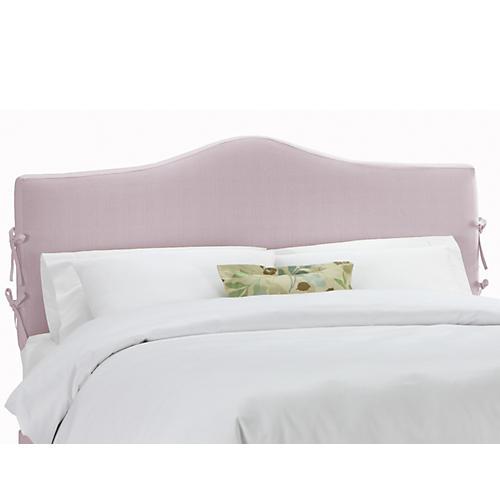Eloise Slipcover Headboard, Lilac Linen
