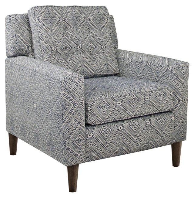 Winston Accent Chair, Slate
