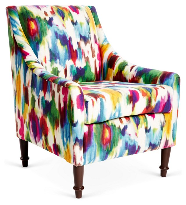Holmes Accent Chair, Multi