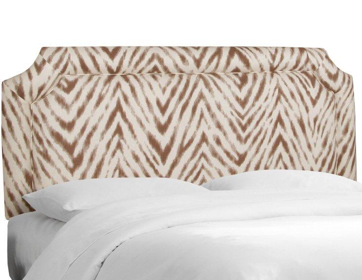 Morris Headboard, Brown/Ivory