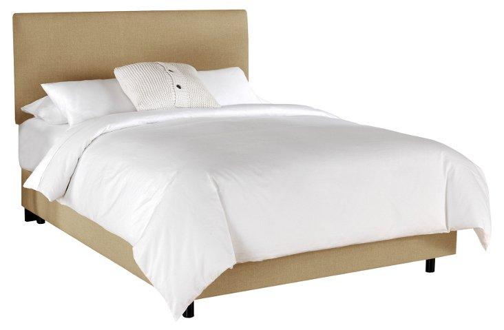 Winston Slipcover Bed, Sandstone