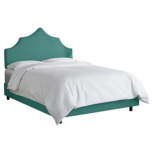 Camille Bed, Teal