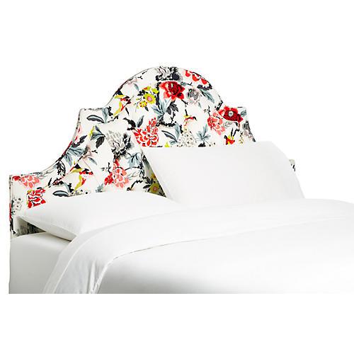 Harvey Tufted Headboard, Floral