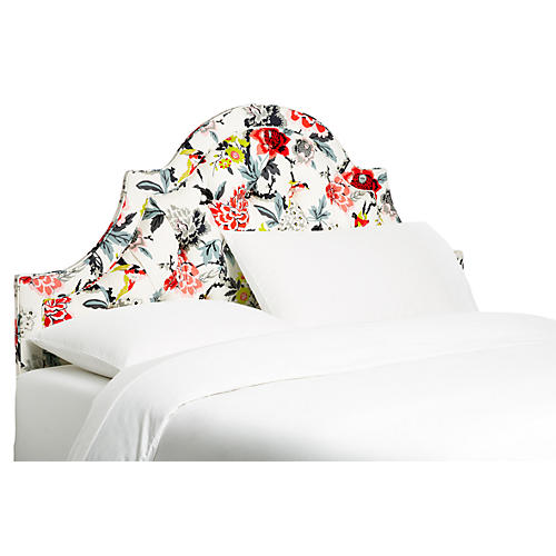 Harvey Headboard, Floral