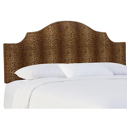 Miller Headboard, Cheetah