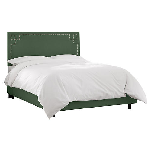 Aiden Bed, Green