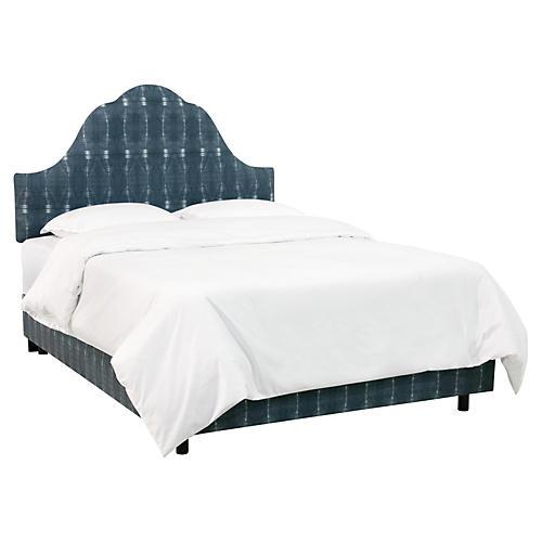 Emma Arched Bed, Indigo