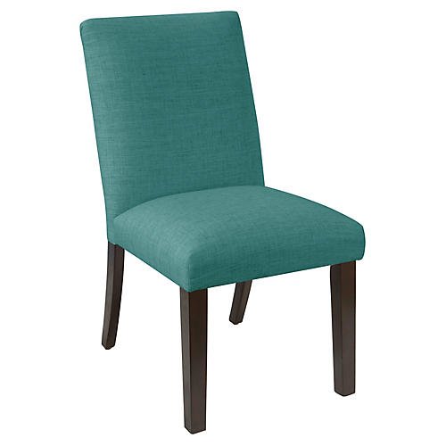 Erin Side Chair, Teal