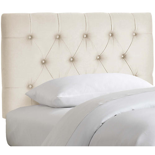 Thea Kids' Headboard, Talc