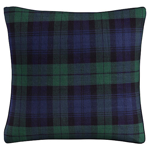Union 20x20 Pillow, Navy/Green