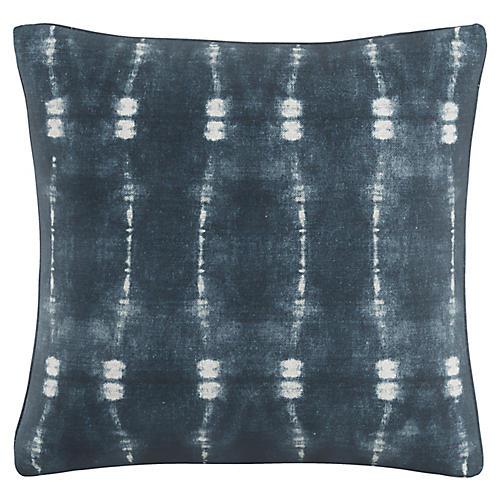 Tremont 20x20 Pillow, Indigo/White