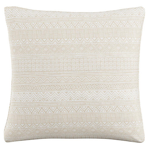Lagos 20x20 Pillow, Beige