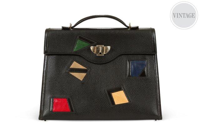 Hermès Multicolored Kelly Bag 32