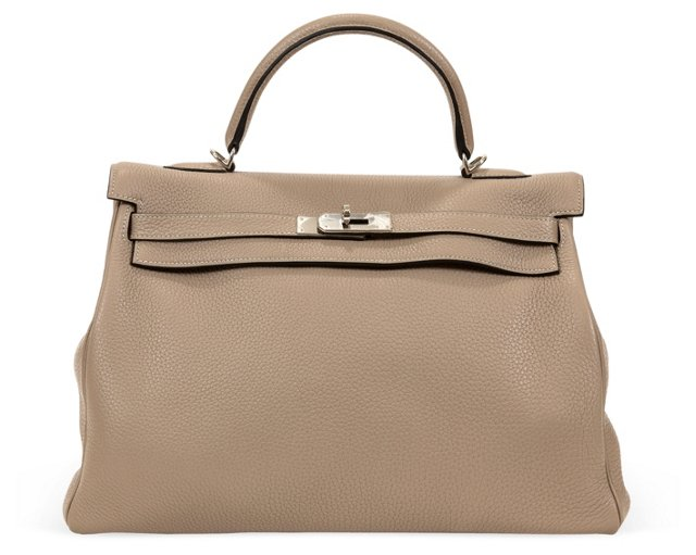 Hermès Gris Tourterelle Kelly Bag 32