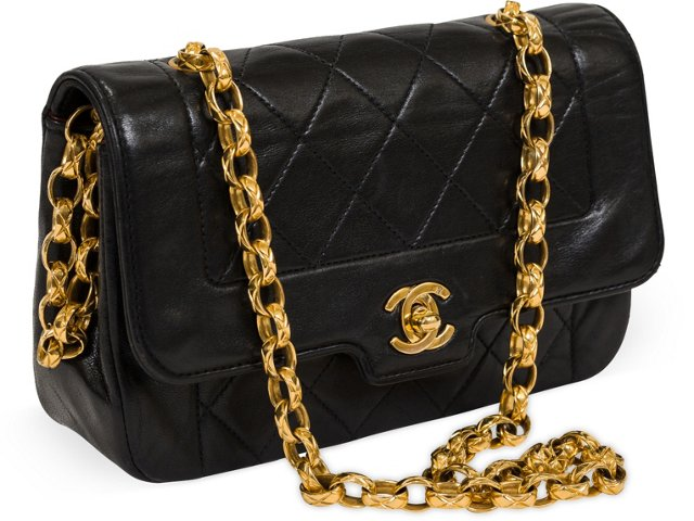 Chanel Black Mini Evening Bag