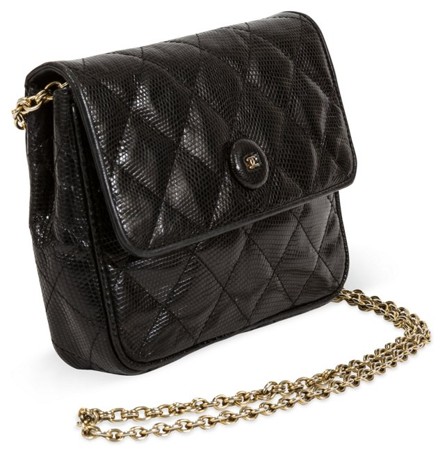 Chanel Lizard Handbag