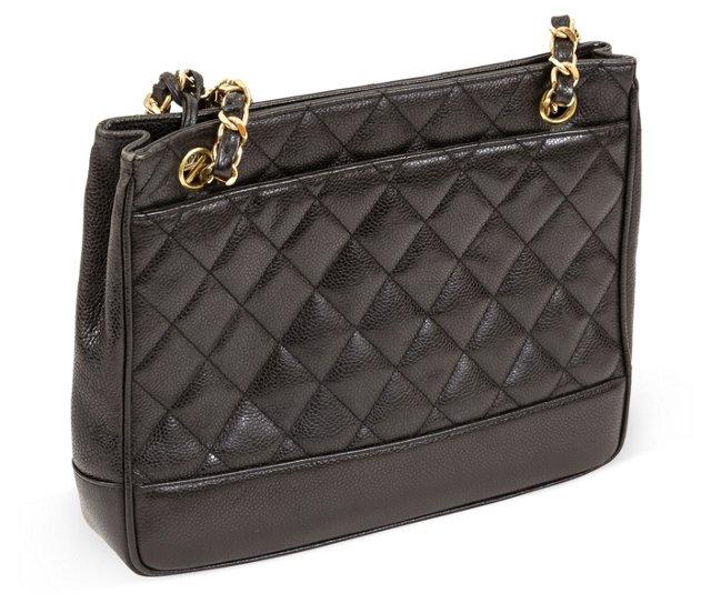 Chanel Caviar Tote w/ Pocket