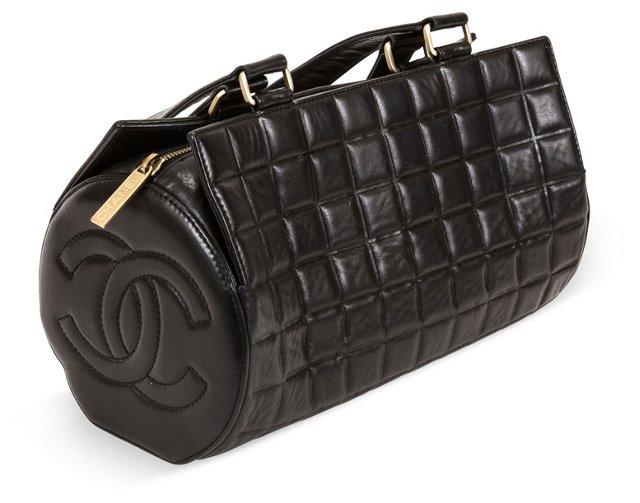 Chanel Chocolate Bar Barrel Bag
