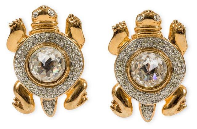 Valentino Turtle Earrings
