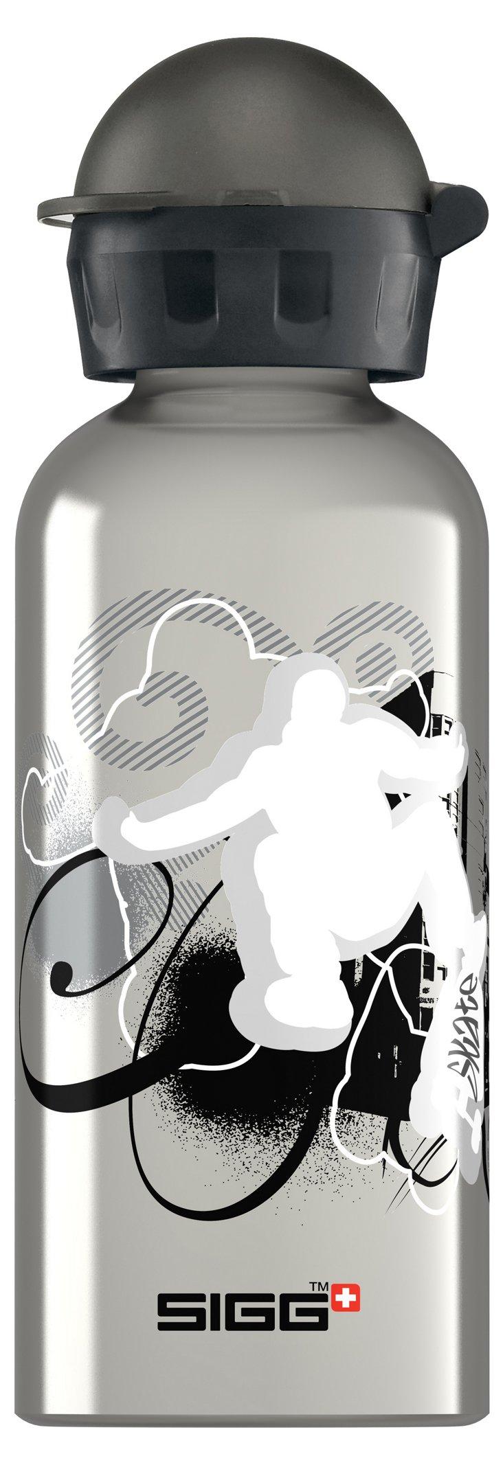 Skatemania Bottle, Silver