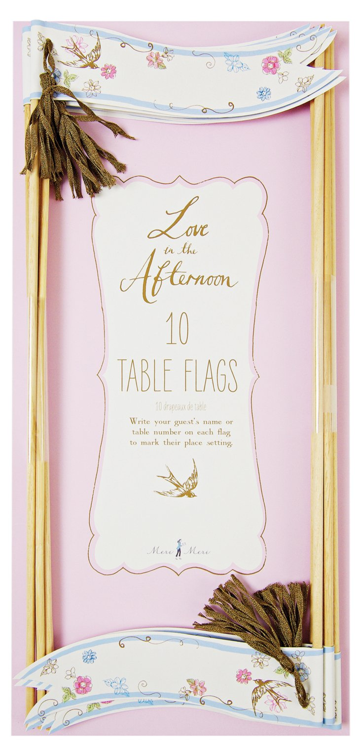 S/20 Table Flags, Love in the Afternoon