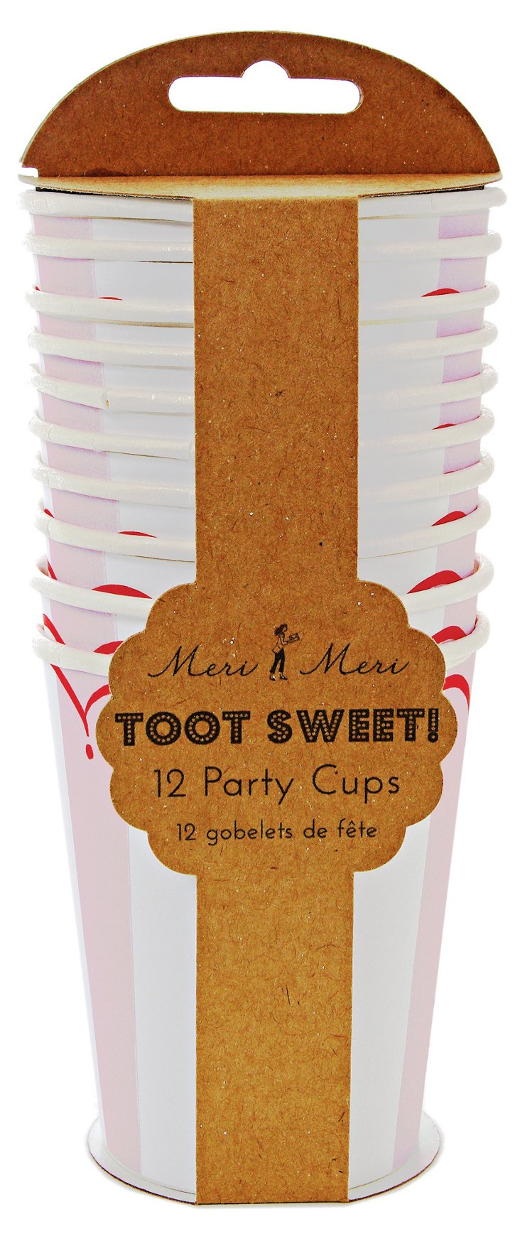 S/48 Toot Sweet Party Cups, Pink