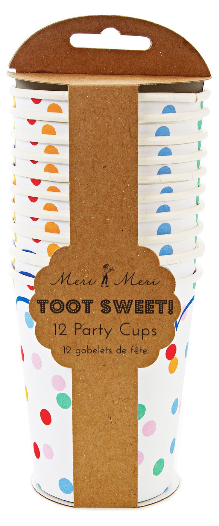 S/48 Toot Sweet Spotty Party Cups