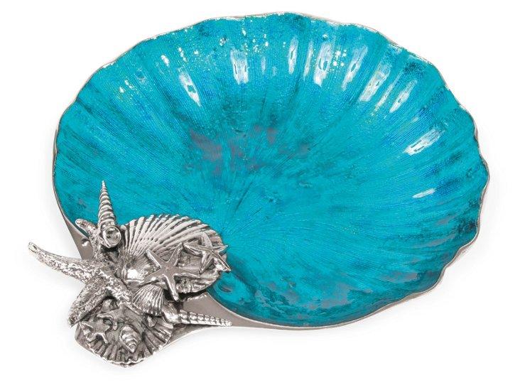 Ocean Blue Scallop Platter