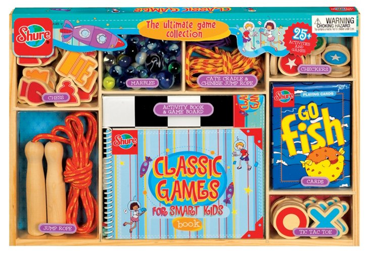 Classic Children's Games Set