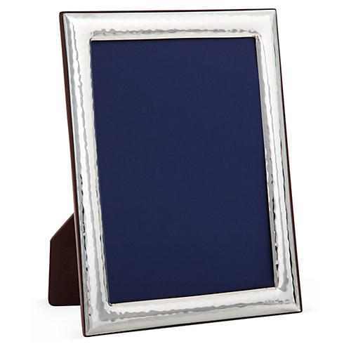 Sterling-Silver Deco Frame, 8x10