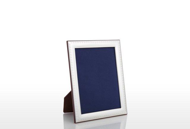 Sterling Fleur-de-Lis Frame, 4x6