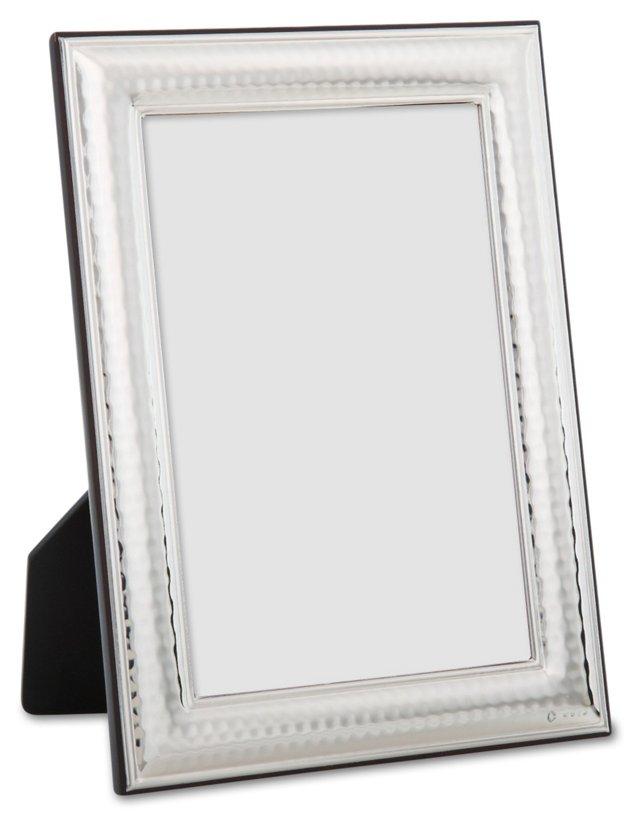 Sterling-Silver Hammered Frame, 4x6