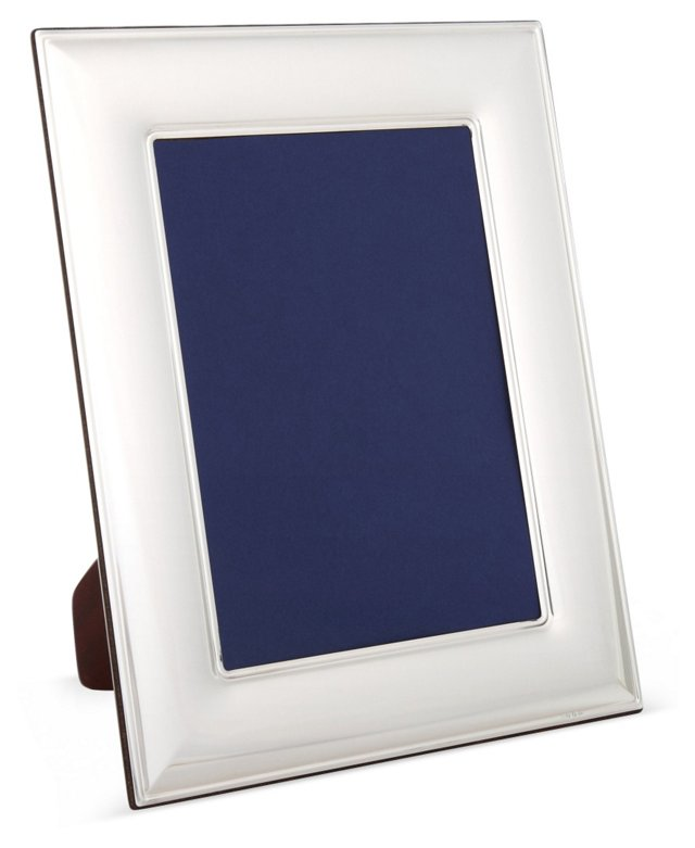 Sterling Silver Wide Simple Frame, 4x6